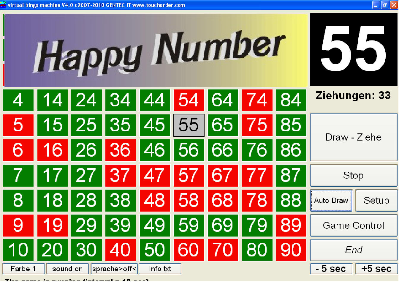 Bingo Gewinnzahlen Heute