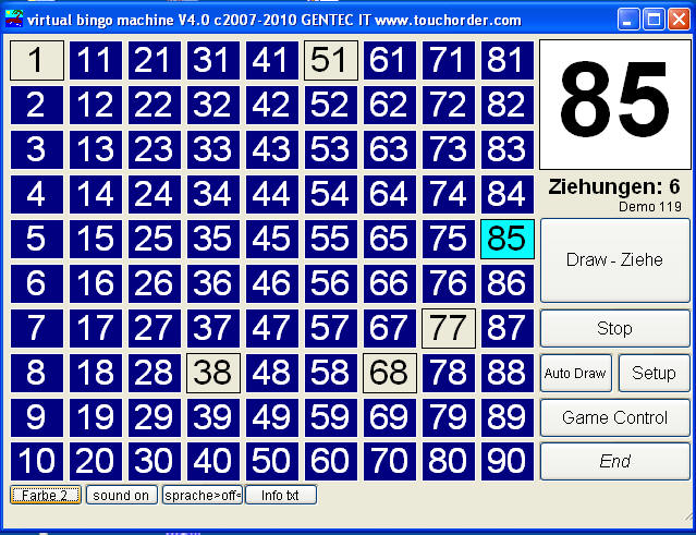 bingo wie viele zahlen